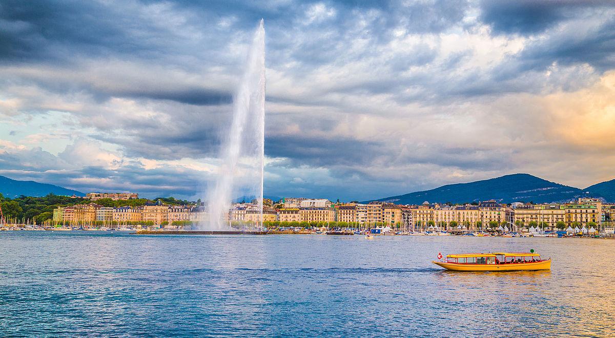 Geneva, CH, waterway
